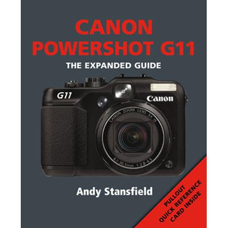"Ammonite Press ""The Expanded Guide, Canon PowerShot G11"", Softcover Book by Andy Stansfield, 192 Pages"