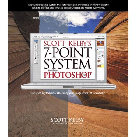 Peachpit Press - Scott Kelby's 7-Point System for Adobe Photoshop CS3, Softcover Book by Scott Kelby