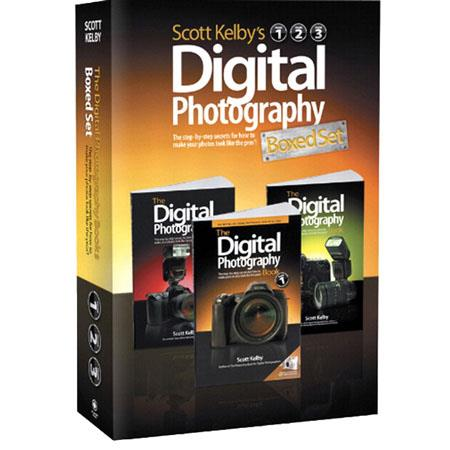 Peachpit Press - Scott Kelby's Digital Photography Boxed Set, Volumes 1, 2 and 3, Three Volume Softcover Book Set by Scott Kelby