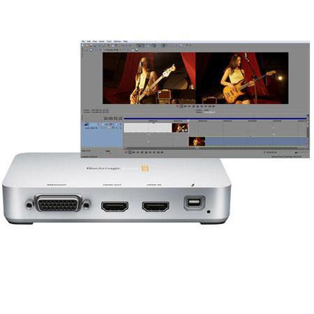 Blackmagic Design Intensity Extreme 10-Bit HD/SD Editing Solution - Bundle - with Sony Vegas Pro 12 Video Editing Software