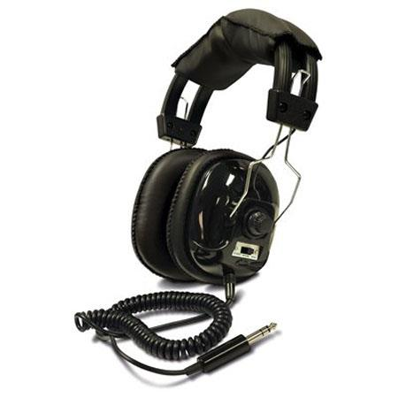 Bounty Hunter Head-W Wired Over-The-Head Headphone, Metal Detector Binaural Connectivity