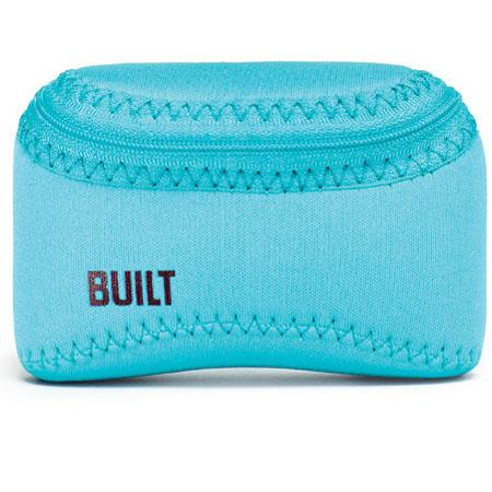 "Built Soft Shell Small Camera Case, 4.75x3.25x2"", Scuba Blue"