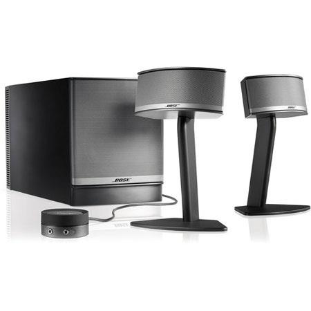 Bose+ Companion+ 5 Multimedia Speaker System, Graphite Gray