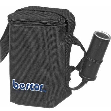Bescor HP-3 12 Volt Starved Electrolyte Battery Pack with Single Cigarette Outout with Automatic Shut Off Charger