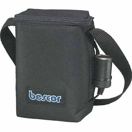 Bescor 7.2 Amp Shoulder Battery Pack with Cigarette Socket Output, with Automatic Charger