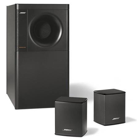 Bose Acoustimass 3 Series V Stereo Speaker System, 2.1-Channel Surround Sound, Up to 100W Power Handling