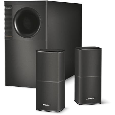 Bose Acoustimass 5 Series V Stereo Speaker System, 2.1-Channel Surround Sound, Up to 200W Power Handling