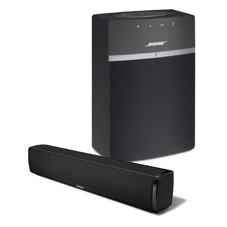 soundtouch 120 home theater system bundle with bose soundtouch 10 wireless music system with. Black Bedroom Furniture Sets. Home Design Ideas