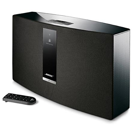 bose soundtouch 30 series iii wireless music system with remote control black 738102 1100. Black Bedroom Furniture Sets. Home Design Ideas