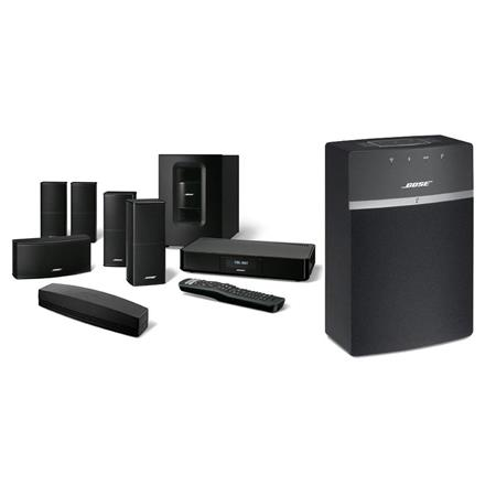 soundtouch 520 home theater system bundle with bose soundtouch 10 wireless music system with. Black Bedroom Furniture Sets. Home Design Ideas
