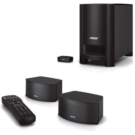 Bose+ CineMate+ GS Series II Digital Home Theater Speaker System - 2.1 Stereo Audio - Black