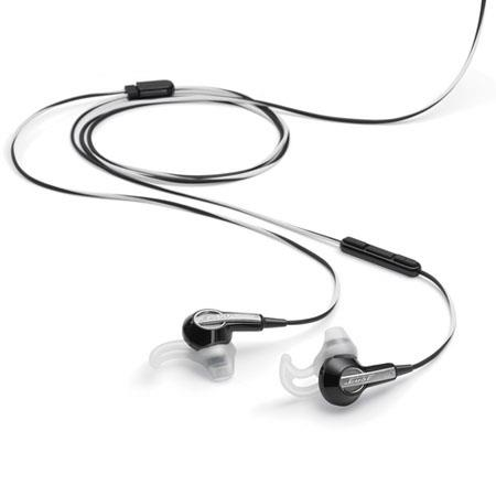 Bose MIE2i In-Ear Mobile Headset, Black & White