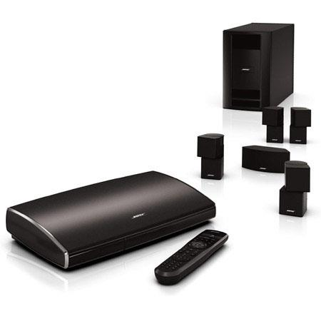 Bose Lifestyle 535 Series II Home Entertainment System, 5.1-Channel Surround Sound, Premium Jewel Cube Speakers