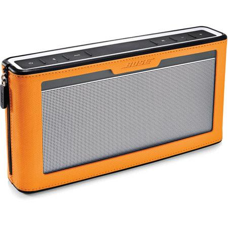 Bose SoundLink Bluetooth Speaker III with Orange Cover
