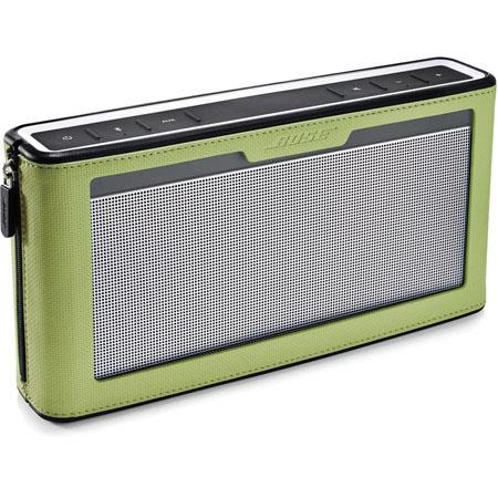 Bose SoundLink Bluetooth Speaker III with Green Cover