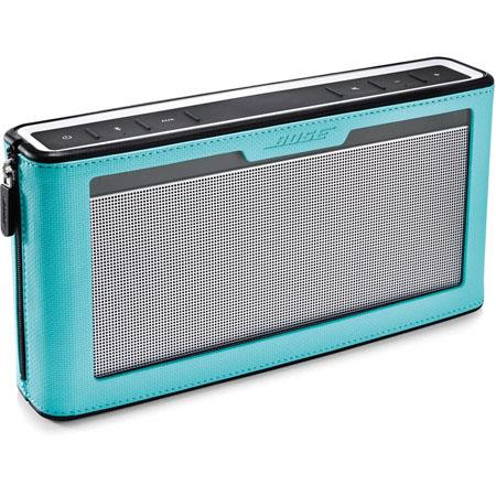 Bose SoundLink Bluetooth Speaker III with Blue Cover