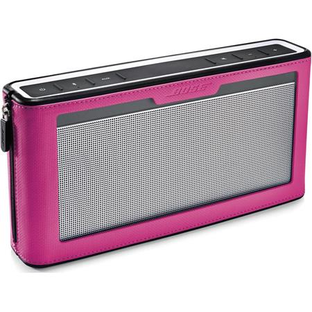 Bose SoundLink Bluetooth Speaker III with Pink Cover