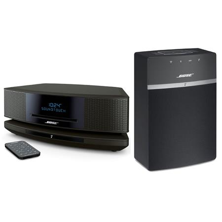 bose wave soundtouch music system iv espresso black w bose. Black Bedroom Furniture Sets. Home Design Ideas