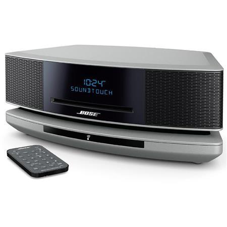 bose wave soundtouch music system iv platinum silver. Black Bedroom Furniture Sets. Home Design Ideas