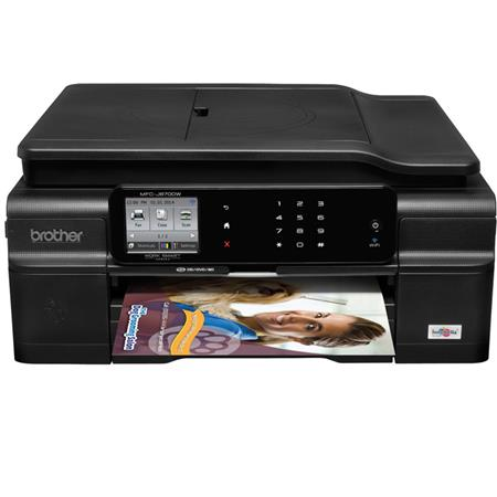 Brother MFC-J870DW Multi-Function Wireless Inkjet Color Printer, 33ppm Black/27ppm Color, Up to 6000x1200dpi, 100 Sheet Input Capacity - Print, Copy, Scan,Fax