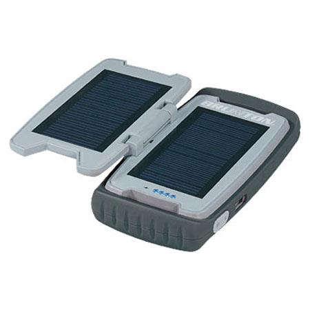 Brunton Restore Power Pack with 2 Solar Panels and 2200mAh Battery, Black