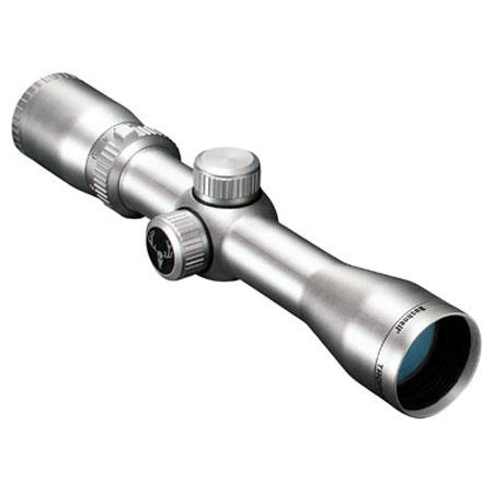 Bushnell 2-6x32mm Trophy XLT Series Handgun Scope, Chrome Stainless Finish with Multi-X Reticle.