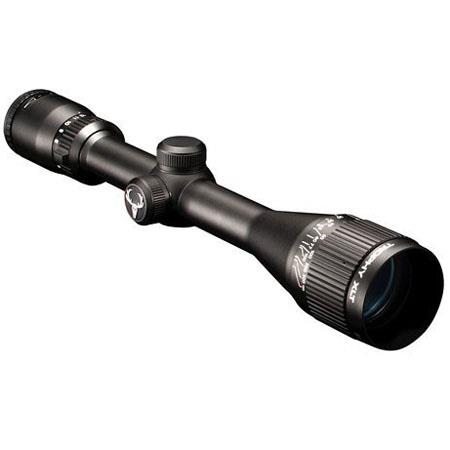 Bushnell 4-12x40mm Trophy XLT Series Rifle Scope, Matte Black Finish with Multi-X Reticle.
