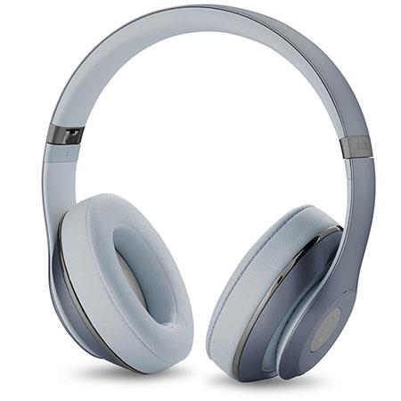 Beats by Dr. Dre Studio Wireless Over-Ear Headphones, Noise Cancelling, 3.5mm Jack, Built-In Microphone, Metallic Sky