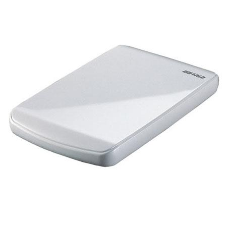 Buffalo Technology Ministation Cobalt HDD 320GB with TurboPC, Pearl White image