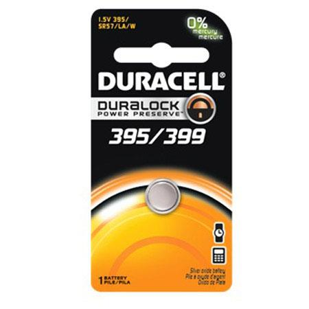 Duracell D395/399 Watch/Electronic Silver Oxide Battery, 1.5 Volt