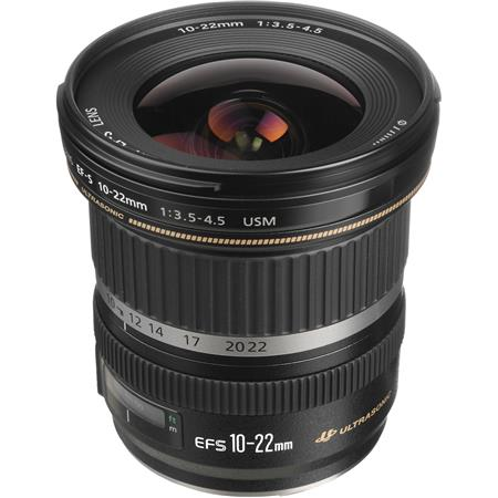 Canon EF-S 10-22mm f/3.5-4.5 USM Zoom Lens - U.S.A. Warranty.