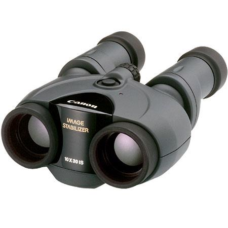 Canon 10 x 30 IS Image Stabilized, Weather Resistant Porro Prism Binocular with 6.0° Angle of View, U.S.A. image