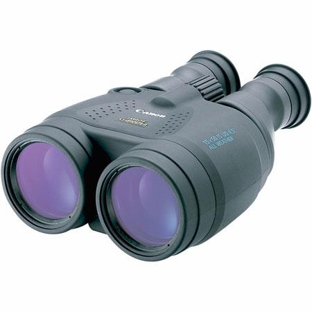 Canon 15 x 50 IS, Weather Resistant Porro Prism Image Stabilized Binocular with 4.5 Degree Angle of View, U.S.A. image