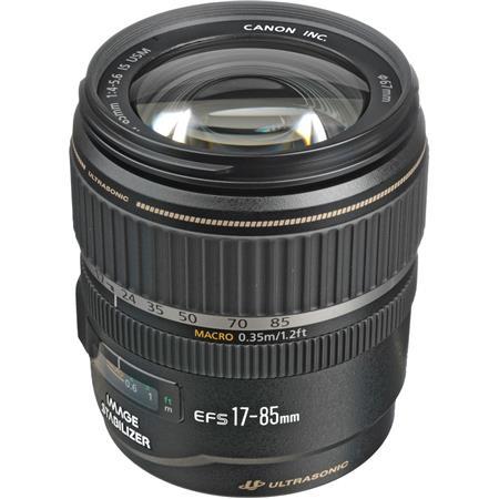 Canon EF-S 17-85mm F/4-5.6 USM IS Zoom Lens for APS-C Sensor DSLR Cameras - U.S.A. Warranty.