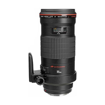 Canon EF 180mm f/3.5L Macro USM AutoFocus Telephoto Lens - USA image