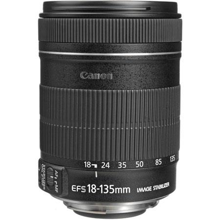 Canon EF-S 18-135mm f/3.5-5.6 IS Auto Focus Lens - Refurbished