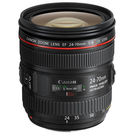 Canon EF 24 70mm f/4L IS USM Zoom Lens   U.S.A. Warranty