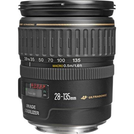 Canon EF 28-135mm f/3.5-5.6 IS USM Image Stabilized AutoFocus Wide Angle Telephoto Zoom Lens - USA