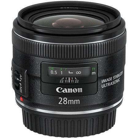 """Canon EF 28mm f/2.8 IS USM Lens - """"Open Box """""""