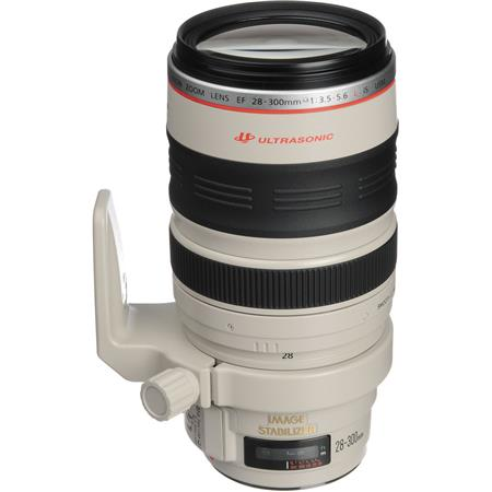 Canon EF 28-300mm f/3.5-5.6L IS USM AutoFocus Wide Angle Telephoto Zoom Lens - USA