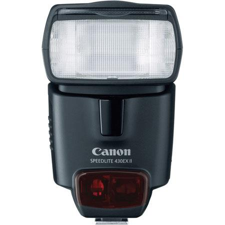Discount Electronics On Sale Canon Speedlite 430EX II Flash with Guide Number 141 Feet / 43m at ISO 100 - U.S.A. Warranty