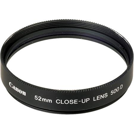Canon 52 Close-Up Lens 500D (for lenses 70mm TO 300mm) image