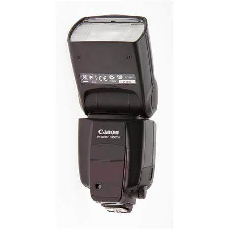 Canon Speedlite 580EX II, Shoe Mount Flash with Guide Number of 190 Feet / 58m at ISO 100 image