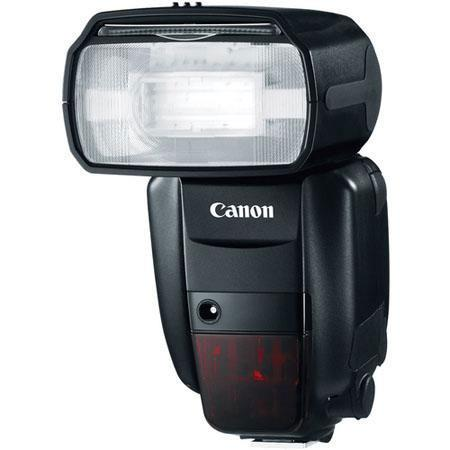 Canon Speedlite 600EX-RT, Shoe Mount Flash with Guide Number of 196 Feet at ISO 100 - Grey Market