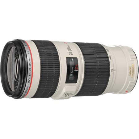 Canon EF 70-200mm f/4L IS USM Autofocus Telephoto Zoom Lens, USA
