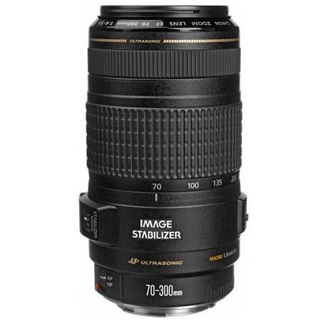 Canon EF 70-300mm f/4-5.6 IS USM Autofocus Telephoto Zoom Lens - USA