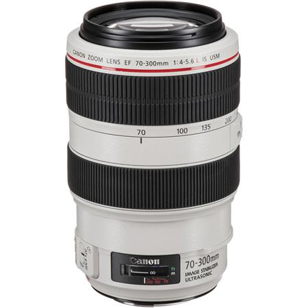 Canon EF 70-300mm f/4-5.6L IS USM UD Autofocus Telephoto Zoom Lens - USA