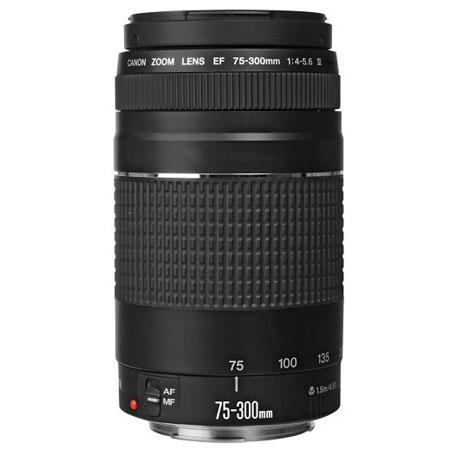 Canon EF 75-300mm f/4-5.6 III Autofocus Telephoto Zoom Lens - Refurbished