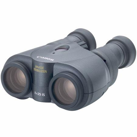 Canon 8 x 25 IS Image Stabilized, Weather Resistant Porro Prism Binocular with 6.6° Angle of View, U.S.A. image