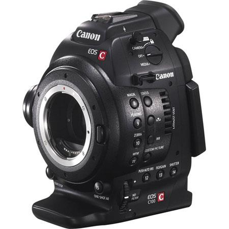 Canon EOS C100 Cinema Camcorder Body - EF Lens Mount